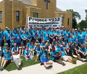Outreach Ministry in Rockford Illinois - Project 1013 - Rock Church